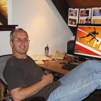Jerry van de Beek Creative Director Little Flufy Clouds animation studio