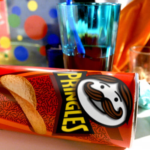 3D animated commercial for Pringles Kellog Company